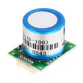 ZE14-O3 Ozone Sensor Detection Module 0~100ppm with UAR/TAnalog Voltage/PWM Wave Output for Air-quality Monitor Device