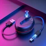 ESSAGER 3 in1 Cabo de dados de absorção magnética Apple Lightning Micro USB Type-C Transmissão de dados de carregamento rápido para iPhone XS 11Pro Huawei P30 P40 Pro MI10 Nota 9S