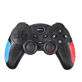 Saitake STK-7024S bluetooth Wireless Dual Vibration Game Controller for Nintendo Switch Six-axis Gyroscope Gamepad for PC Laptop Smart TV Box Android Mobile Phone