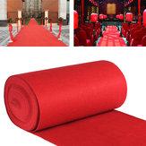 10m/15mVIPKırmızıHalı Runner Parti Dekorasyon Düğün Koridor Kat Tek Giriş Sahne Halı