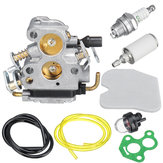 Carburatore Carb Kit per carburatore C1T-W33 4 Zama Husqvarna 240 240E 235 235E