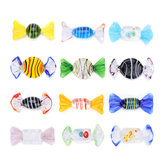 12Pcs Vintage Murano Glass Sweets Candy Christmas Decorations Kids Ornament