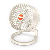 Мини-настольный вентилятор 2,5 Вт Многофункциональный USB-вентилятор для зарядки с низким уровнем шума для дома студенческого общежития