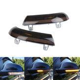 Dinamico LED Specchietto retrovisore Indicatore di direzione Ambra per VW Jetta Golf 6 MK6 Passat B6 2006-2011