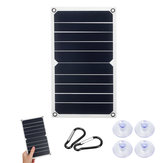 10W 6V 1700mA 260x140x2.5mm Slim & Light Solar Panel Support USB Charge for Outdoor Working