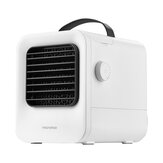 Microhoo MH02D Portable USB Air-Conditioning 4000mAh Built-in Battery 2.5m/s Cooling Fan Negative Ion Purifier Air Cooler Stepless Speed Regulation for Home Office
