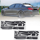 Carbon Fiber Pattern Car Interior Dashboard Sticker Wrap Decoration for BMW 5-Series F10 F18 2011-17