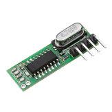 3pcs RX470 433Mhz RF Superheterodyne Module de récepteur de contrôle à distance sans fil ASK / OOK pour émetteur Smart Home