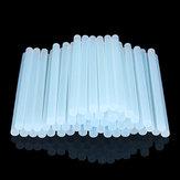 50 Stücke 11mm x 200mm Weiß Transparente Heiße Schmelze Gule Sticks DIY Handwerk Modell Reparatur Klebstoff