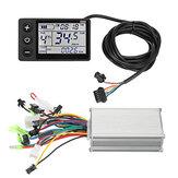 24V-36V 250Wブラシレスコントローラ、LCDディスプレイ付、電動スクーターE-バイク用防水