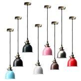 E27 moderna de la vendimia pendiente del techo lámpara de la bombilla accesorio retro café bar forma