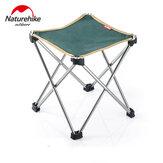 Naturehike NH15D012-B chaise pliante portable en alliage d'aluminium pique-nique barbecue plage tabouret