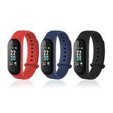 XANES M30 0.96 '' Renkli Ekran IP67 Su Geçirmez Smart Bileklik Kalp Puan Monitör Akıllı Watch mi band