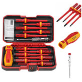 13Pcs 1000V Electronic Insulated Screwdriver Set Phillips Slotted Torx CR-V Screwdriver Hand Tools