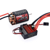 SURPASS Hobby Brush 540 11T RC Car Motor+60A ESC For 1/10 Crawler
