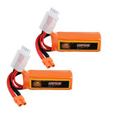 2Pcs URUAV GRAPHENE 3S 11.4V 300mAh 100C HV Lipo Battery XT30 Plug for FPV RC Racing Drone