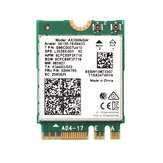 Fenvi Wireless WiFi 6 Adapter Network Card Dual Band 2400Mbps for Intel AX200 NGFF M.2 bluetooth 5.1