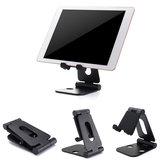 Suporte de suporte de alumínio dupla para suporte para tableta de smartphone