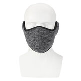 Motorcycle Scooter Riding Warm Half Face Mask Windproof 360° Protection Ear Guard