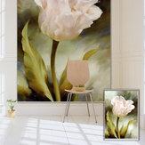 PAG Tulip Wall Decor Okno Kurtyny Rolety okiennice Kwiat Drukuj Malarstwo Roller Blind Background