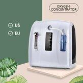 Концентратор кислорода Регулируемый портативный кислородный агрегат 1-6 л / мин для дома и путешествий без Батарея