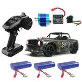 SG 1604 RTR χωρίς ψήκτρες 60km / h Διάφορες μπαταρίες 1/16 2.4G 4WD RC Car LED Light Drift Proportional Vehicles Model
