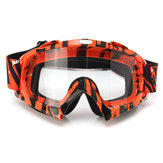 Motorcycle Motocross Off Road Riding Sports Snowboard Goggles Transparent/Coloful Len