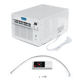 1100W 220V Window Air Conditioner Refrigerated Cooling Heating Remote