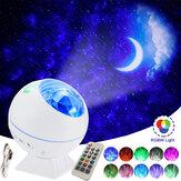 Auto / Zuhause Sphärische Sternenhimmel mit 40 Verwendungszwecken Sky Projektor RGB-Lampe Auto-Atmosphärenlicht Sprachsteuerung Nachtlicht
