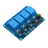 24V 4 Channel Relay Module For PIC ARM DSP AVR MSP430 Geekcreit for Arduino - products that work with official Arduino boards