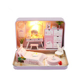 Hoomeda DIY Doll House Romantic Theater Kid Girl Gift S932