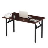 Escritorio de computadora plegable Mesa de estudio simple Mesa de juego Escritorio de escritura sin ensamblar para oficina en casa
