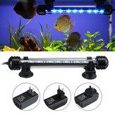 18cm 5050SMD 9LED aquarium poisson réservoir RGB lumière submersible étanche barre bande lampe