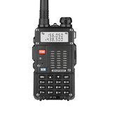 BAOFENG BF-F8 8W UV Dual-band tweeweg-radio Handheld walkietalkie 128 kanalen 400-520 MHz Zaklamp Outdoor Wandelen Civiele intercom