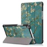 Albaricoque Blossom Tri Fold Caso Cubierta para 8 Inch Huawei Honor 5 8 Inch Tabletaa