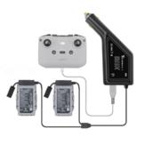 YX 3-IN-1 Autolader Snelle Multi Intelligente Batterij Afstandsbediening Outdoor Oplaadhub voor DJI Mavic Air 2