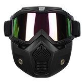 Staccabile Casco modulare maschera di protezione Shield Occhiali colorato Obiettivo della bici del motociclo