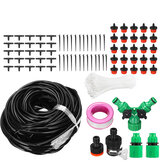 8/20/30/40m Garden Automatic Drip Irrigation Set Adjustable DIY Irrigation Kit