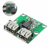 5Pcs Dual USB Output 6-24V To 5.2V 3A DC-DC Step Down Power Charger Module Converter