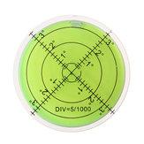 3шт 60мм Большой Дух Уровень Пузырька Уровень Марка Поверхности Круговой Измерение Глаза Быка