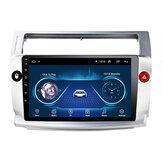 9 Inch 2Din For Android 9.1 Car Radio Mlitimedia Player Quad Core 1+16G WIFI GPS Navi FM For Citroen C4 C-Triomphe C-Quatre 2004-2009