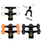 Longbo Skateboard Trucks Combo Set + 52mm Wheels + ABEC 7 Bearings + Bolts / Nut