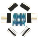 5Pcs ProtoBoard Shield Expansion Board For D1 Mini Double Sided Perf Board Compatible