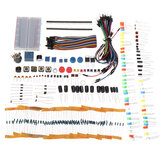 KW Electronic Components Base Kit with 17 Classes Breadboard Components Set Geekcreit for Arduino - products that work with official Arduino boards