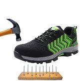 أحذية السلامة TENGOO أحذية العمل الصلب تيو رجل المشي لمسافات طويلة في الهواء الطلق تشغيل أحذية التخييم عدم الانزلاق مكافحة تحطيم