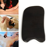 Skrobak Gua Sha Natural Black Buffalo Horn