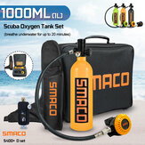 S400 + D Set 1000ML أكسجين Cylinder Diving Set For SMACO