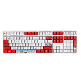 108 Keys Keycap Set OEM Profile PBT Five-sided Sublimation Keycaps for Mechanical Keyboard