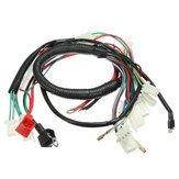 Wiring Harness Loom For Chinese Electric Start Quads 50cc 70cc 90cc 110cc 125cc
