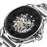 OCHSTIN 62004B 3D חייג מקרה עיצוב אוטומטי שעונים מכניים